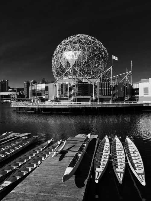 The iconic Science World