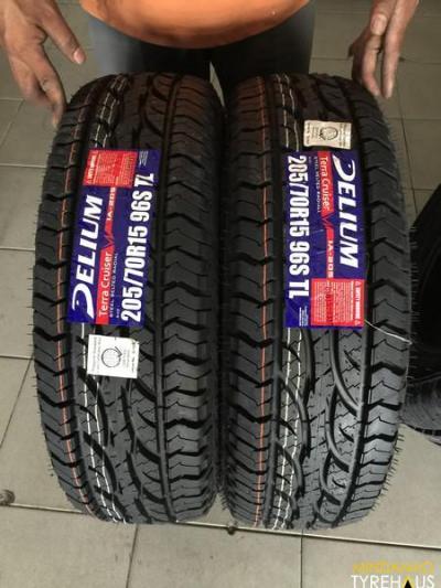 205-70-r15 Delium All terrain Bnew Tires | Mindanao Tyrehaus