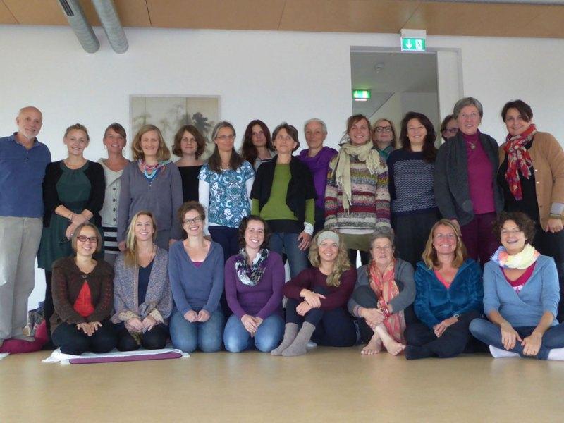 Weltweit erster Kurs  in MBCP – Geburtsvorbereitung mit Achtsamkeit gestartet.