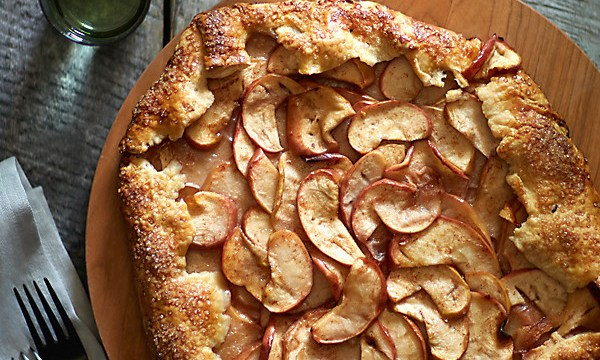 Rustic French Apple Galette Recipe