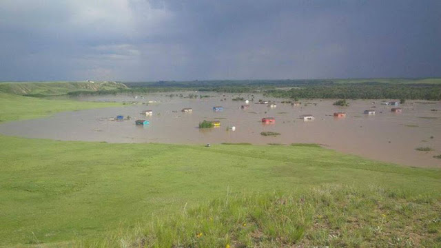Alberta floods, save water, live eco friendly