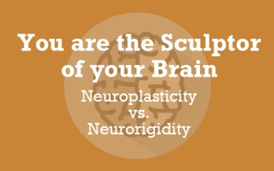 You Are the Sculptor of your Brain: the endless possibilities of Neuroplasticity vs the endless constriction of Neurorigidity