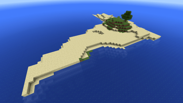 [PE 0.10] Perfect survival island for Pocket Edition