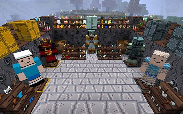 Adventure Time Craft Resource Pack for Minecraft 1.8.4, 1.8.3