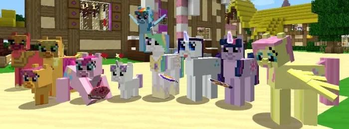 сервера my litle pony для майнкрафт 1.7.2