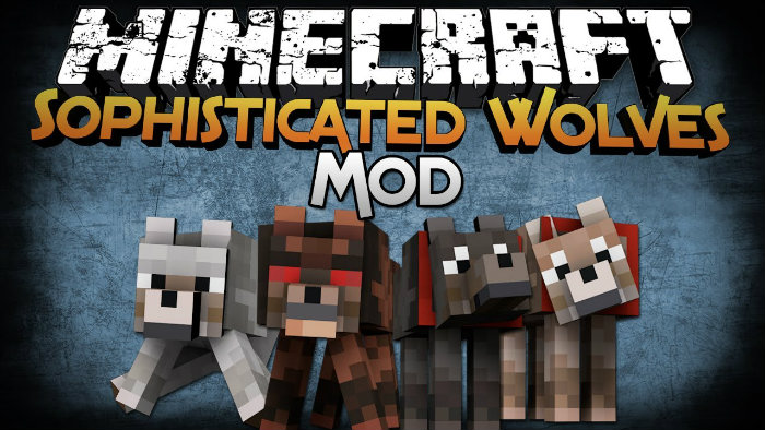 Sophisticated Wolves Mod for Minecraft 1.8 | MinecraftSix