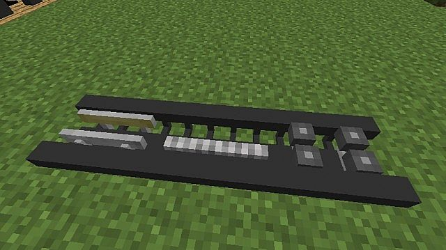 how to make a small roller coaster in minecraft