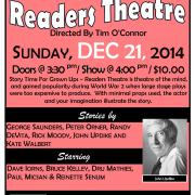 2014 11 12  POSTER for  READER's THEATRE