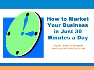 hwo to market your business in just 30 min a day