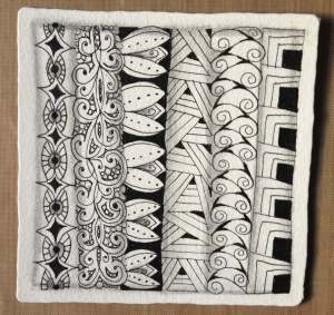 Zentangle weekly challenge