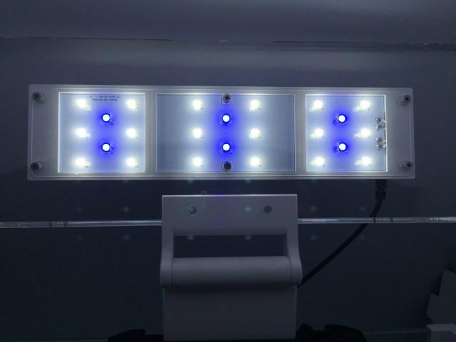 350 4 5gal nano fish tank w 10w led light internal filter sku atk 350