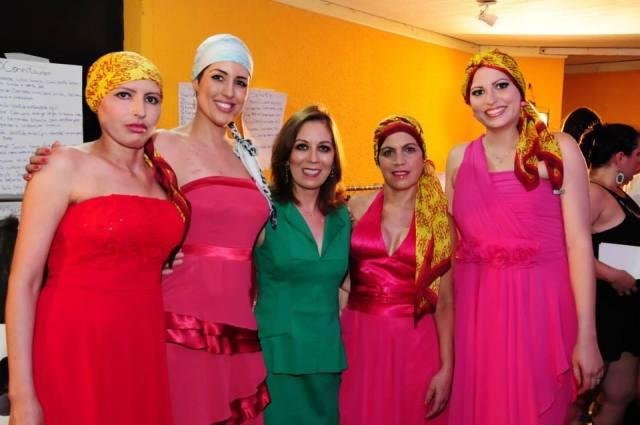 Eu, Dayana, Joyce, Marilsa e Lúcia