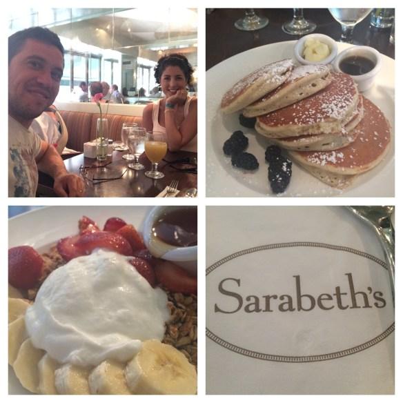 Brunch (mas na verdade foi café da manhã) no Sarabeth's do Central Park (as meninas chiques do Gossip Girl adoravam ir lá)