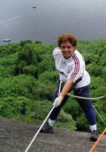 Rapel no Pao de Acucar em 2010, antes do CA de intestino. Vida de atleta!