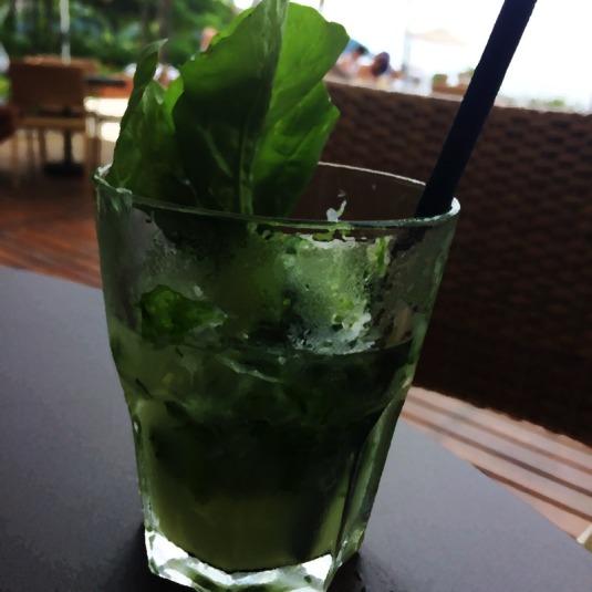 caipirinha suco verde