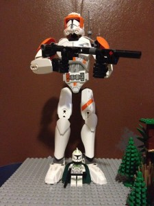Clone Commander Cody Buildable Figure