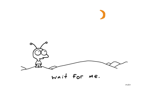 Wait for me — Moby
