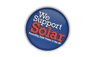 """""""We Support Solar"""""""