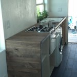 My lovely kitchen minus some open shelving up above