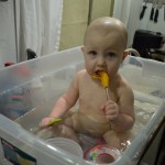 Favorite time of fay, Bathtime... well nest to dinner time... and bed time...