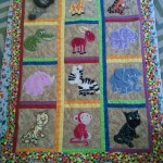 This was the one she made for Hazel, with jungle animals!