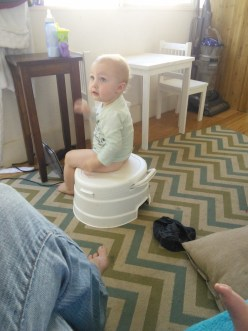 Just an embarrassing photo for later :) Shes potty training and doing so good!