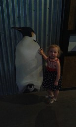 Hazel and I loved the penguins, this was her favorite!