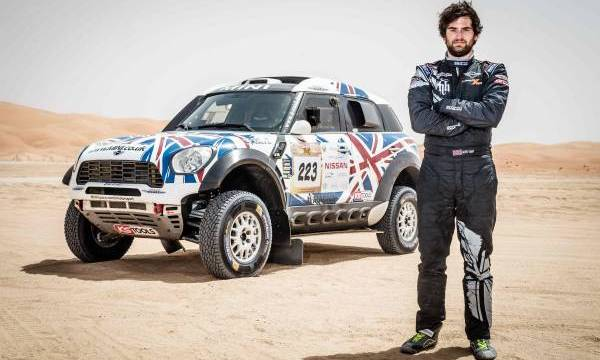 MINI partners with British driver Harry Hunt for the Dakar Rally 2016