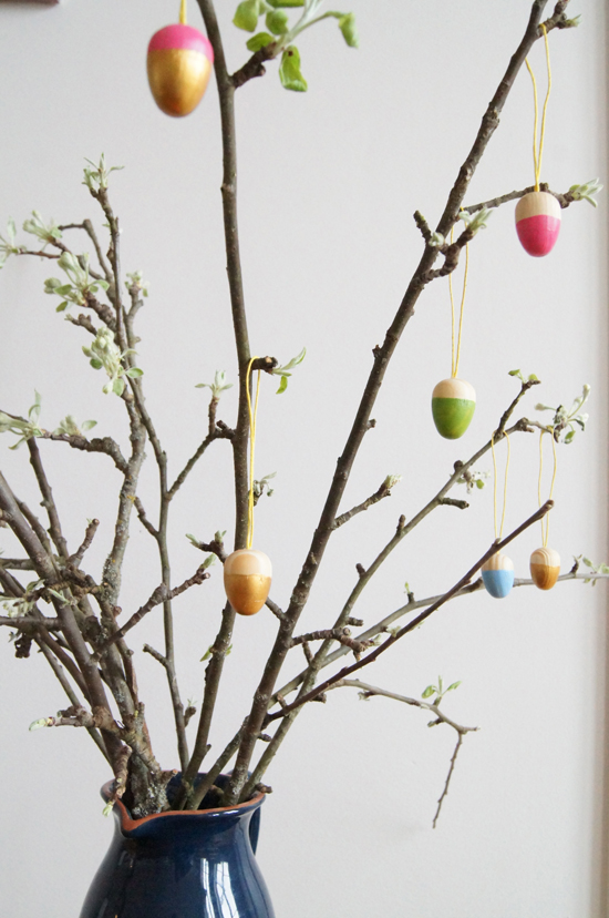 Mini Piccolini - Dip Dyed Wooden Easter Ornaments