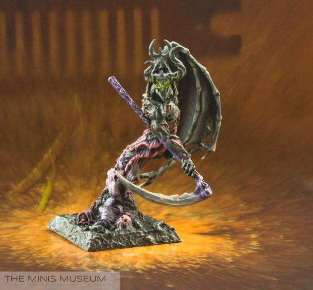The Minis Museum - Darkness Elemental miniature, Rackham Confrontation - 01