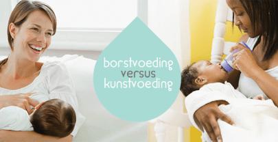 Kiezen voor borstvoeding of kunstvoeding?