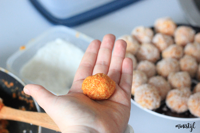 carrot cake truffels