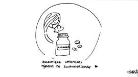 vitamines tijdens zwangerschap