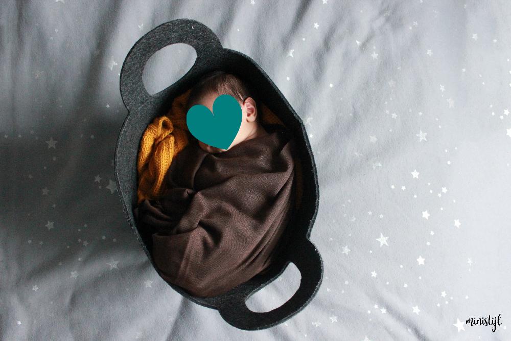 baby inbakeren