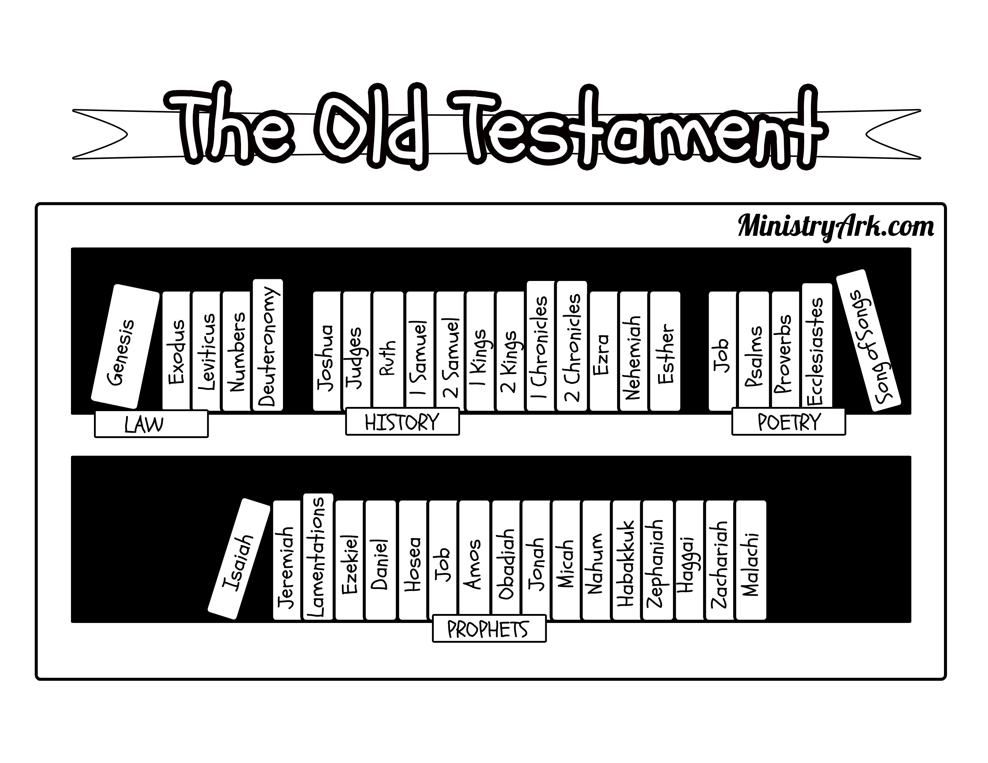 Free Coloring Pages Of Bible Bookcase