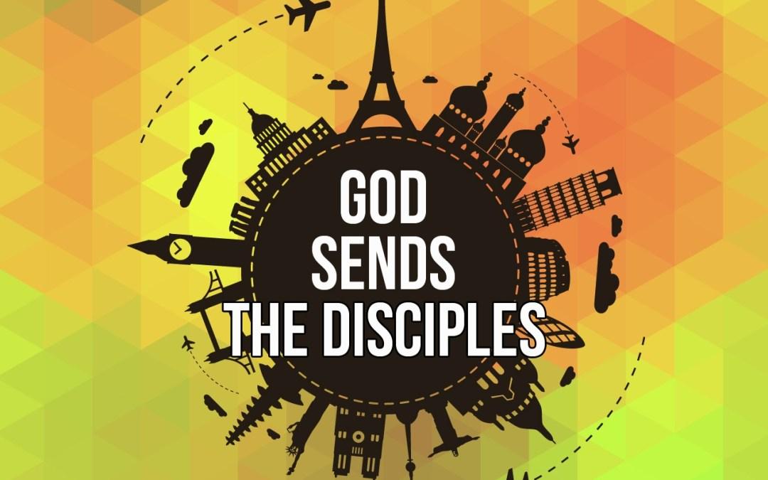 God Sends The Disciples Sunday School Lesson Matthew 28