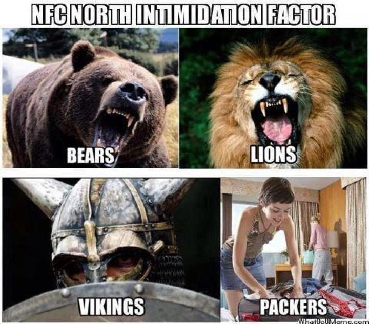 PIC - NFC North Intimidation Factor