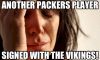 Photo Captioned: Packer Grief: ANOTHER Packers Player Signs With The Vikings!