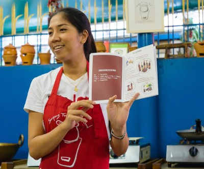 Thai Cookbook at Sompong Thai Cooking School