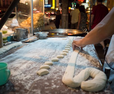 Making Chinese Donuts in Bangkok Thailand WithLocals.com