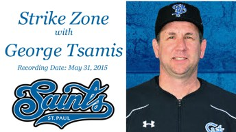 Strike Zone with St. Paul Saints Manager George Tsamis
