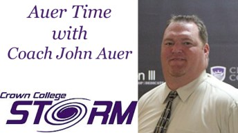Auer Time with Crown College Coach John Auer