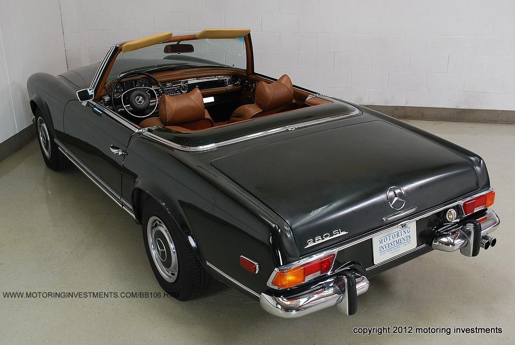 Honest 69 mercedes benz 280sl mint2me for Mercedes benz 280sl