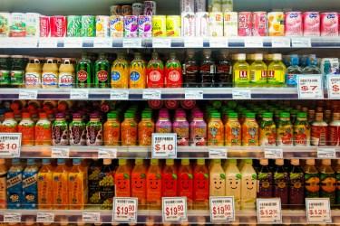 Estanteria de supermercat