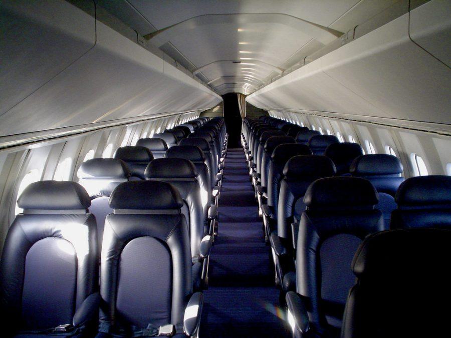La cabina del Concorde era la más estrecha de su categoría. Se pagaba servicio y rapidez. / Kevin McCarthy
