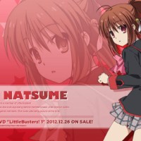 Little Busters Rin Natsume wallpaper