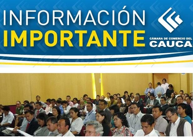 Directivos de asocamaras se reunen en Popayan