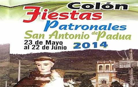 Fiestas Patronales de San Antonio de Padua – Colón 2014