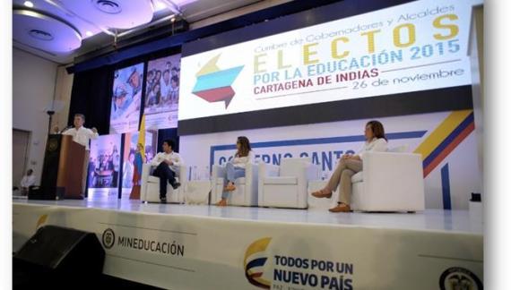 Gobernadores y Alcaldes Electos convocados para hacer de Colombia el país mejor educado de América Latina