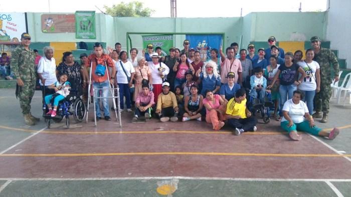 Se realizó jornada de apoyo al desarrollo para personas con discapacidad en Puerto Leguízamo